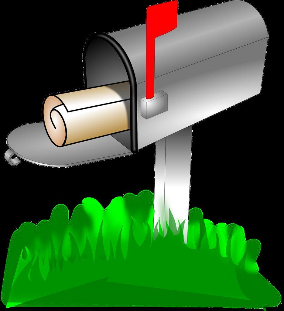 mailbox, postal, box