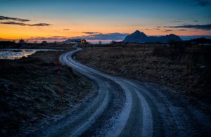 Cycling through Northern Norway