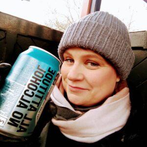 Zero alcohol during dry January