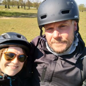 exploring the Thames on the bike with Justin