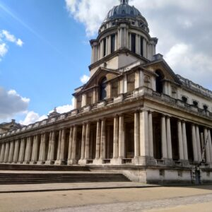 I saw the Royal Naval College in Greenwich when I cycled 100 km