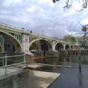 Richmond Lock and Weir I discovered when cycling 100 km