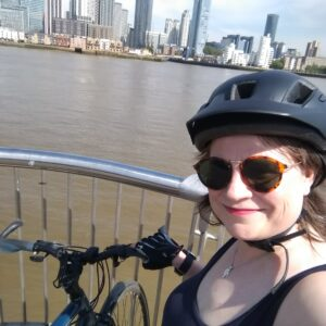 London rides to prepare for cycling across Europe